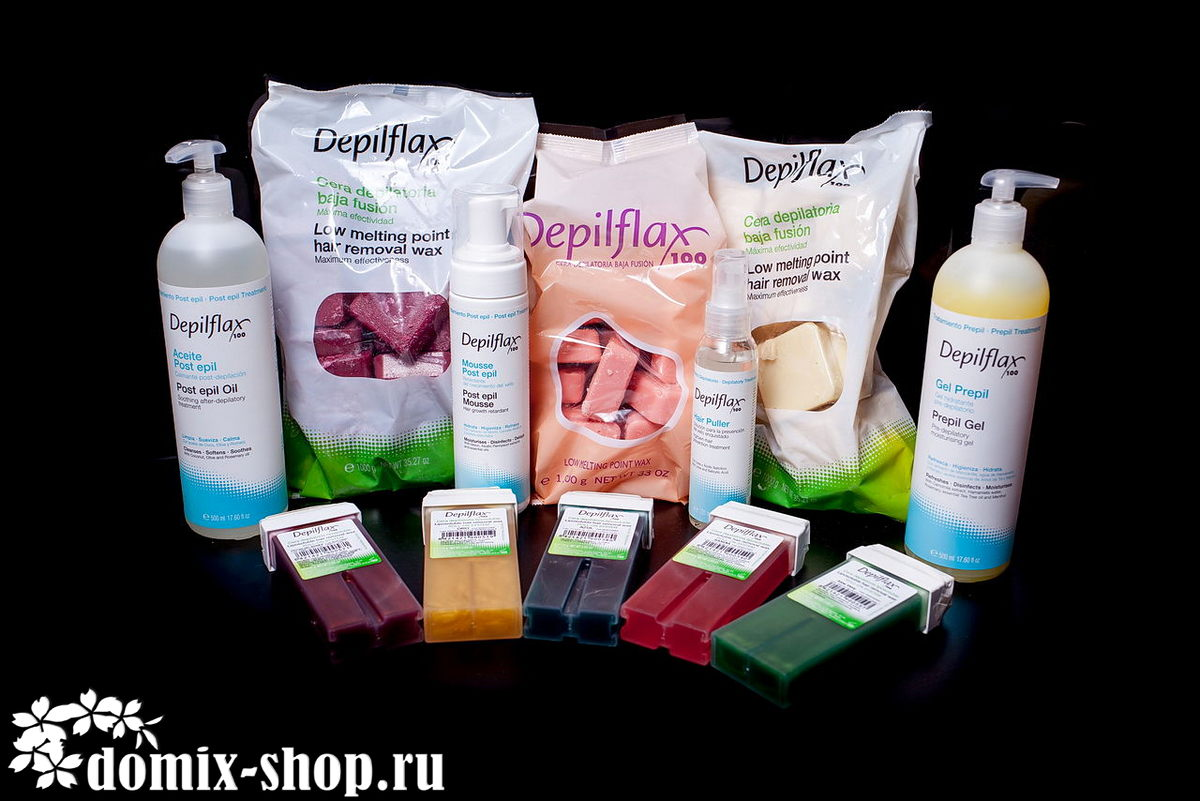Depilflax - средства для депиляции